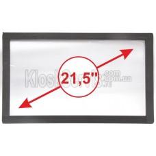 Сенсорная панель (сенсорное стекло) LED I-Touch инфракрасная 21,5 дюймов, 3 мм, 16:9 без рамки, широкоформатная