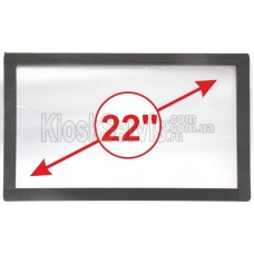 Touch panel (touch glass) LED I-Touch infrared 22 inches, 3 mm, 16: 9 frameless, widescreen