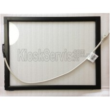 Touch panel (touch glass) KeeTouch SAW 17 inches, 6 mm, 4: 3 in a frame