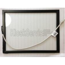 Сенсорная панель (сенсорное стекло) ПАВ KeeTouch 17 дюймов, 6 мм, 4:3 в рамке