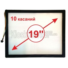 """Touch panel Led i-Touch multitouch, square 19 """"/ 10 touches in a frame"""