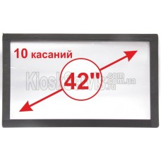 "Сенсорная панель  Led i-Touch мультитач, широкоф. 42"" / 10 касаний"
