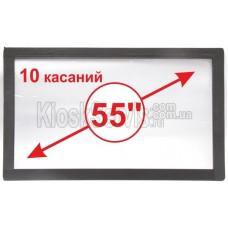 "Сенсорная панель  Led i-Touch мультитач, широкоф. 55"" / 10 касаний"