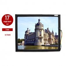 Сенсорная панель (сенсорное стекло) LED I-Touch инфракрасная 17 дюймов, 3 мм, 4:3 без рамки