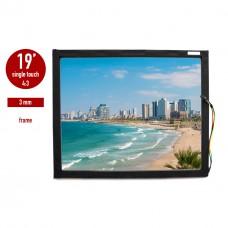 Сенсорная панель (сенсорное стекло) LED I-Touch инфракрасная 19 дюймов, 3 мм, 4:3 в рамке