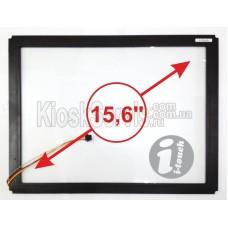 "Сенсорная панель LED i-Touch 3 мм 15,6"" 16:10 в рамке"