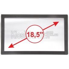Сенсорная панель (сенсорное стекло) LED I-Touch инфракрасная 18,5 дюймов, 3 мм, 16:9 без рамки, широкоформатная