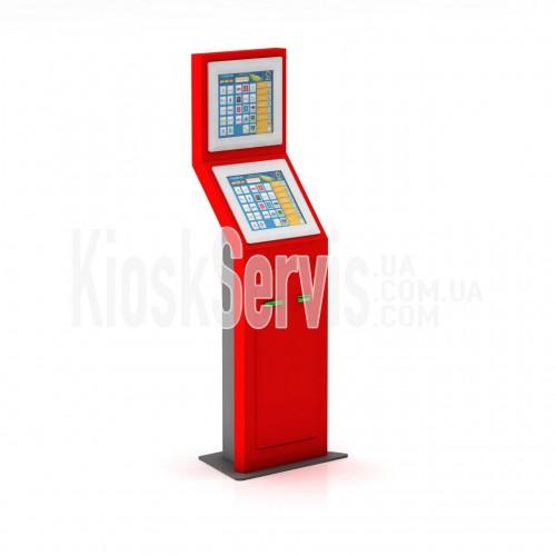 Платежный терминал ПТ-2 (с дополнительным рекламным монитором)